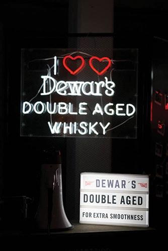 dewars whisky